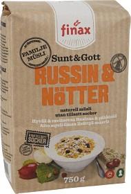 Bild på Finax Müsli Sunt & Gott Russin & Nötter 750 g
