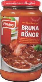Bild på Findus Bruna Bönor 520 g