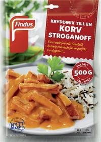 Bild på Findus Kryddor till en Korv Stroganoff 53 g