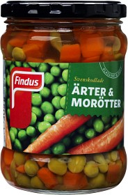 Bild på Findus Ärter & Morötter 305 g