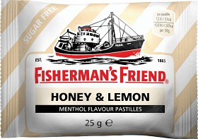 Bild på Fisherman's Friend Honey & Lemon 25 g