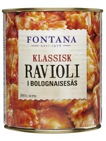 Bild på Fontana Klassisk Ravioli i Bolognaisesås 800 g