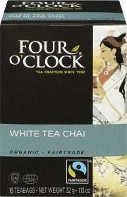 Bild på Four O'Clock Te White Chai 16 p