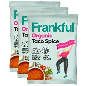 Bild på Frankful Taco Spice Organic 3x23g