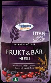 Bild på Frebaco Frukt & Bär Müsli 625 g