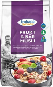Bild på Frebaco Frukt & Bär Müsli 700 g