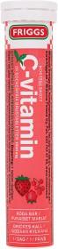 Bild på Friggs C-vitamin Stevia Röda Bär 20 st