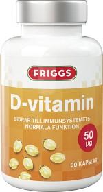 Bild på Friggs D-vitamin 90 kapslar 50 µg