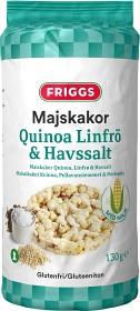 Bild på Friggs Majskakor Quinoa, Linfrö & Havssalt 130 g