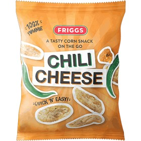 Bild på Friggs Majssnacks Chili Cheese 40 g
