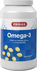Bild på Friggs Omega-3 500 mg 160 kapslar
