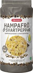 Bild på Friggs Majskakor Hampafrö & Svartpeppar 130 g