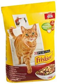 Bild på Friskies Adult Oxkött, Kyckling & Grönsaker 7.5kg