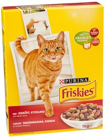 Bild på Friskies Adult Oxkött, Kyckling & Lever 1 kg
