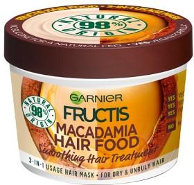 Bild på Garnier Fructis Hair Food Smoothing Hair Treatment Macadamia 390 ml