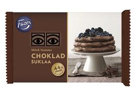 Bild på Fazer Ögon Mörk Choklad 250 g