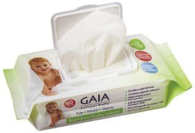 Bild på Gaia Baby Wipes 80 st