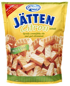 Bild på Göteborgs Kex Jätten Citron 250 g