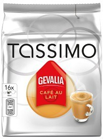 Bild på Tassimo Gevalia Café Au Lait 16 p
