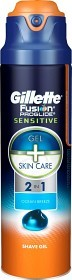 Bild på Gillette Fusion ProGlide Sensitive Shave Gel Ocean Breeze 170 g