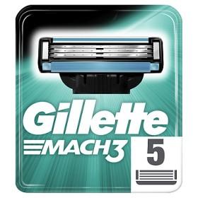 Bild på Gillette Mach3 rakblad 5 st