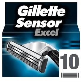 Bild på Gillette Sensor Excel rakblad 10 st