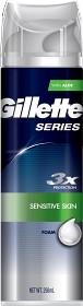 Bild på Gillette Series Sensitive Shave Foam 250 ml