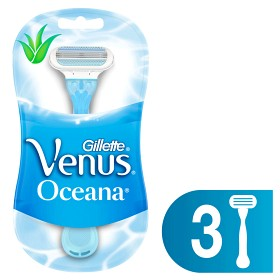 Bild på Gillette Venus Oceana engångshyvel 3 st