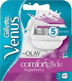 Bild på Gillette Venus Olay Comfort Glide Sugarberry rakblad 3 st