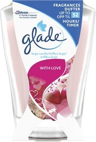 Bild på Glade Doftljus Large With Love 1 st
