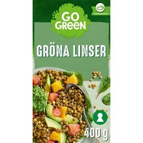 Bild på GoGreen Gröna Linser 400 g