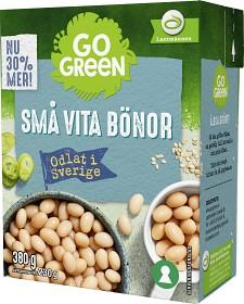 Bild på GoGreen Svenskodlade Små Vita Bönor 380 g
