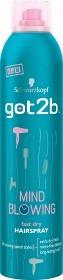Bild på Schwarzkopf Got2B Mind Blowing Hairspray 300 ml