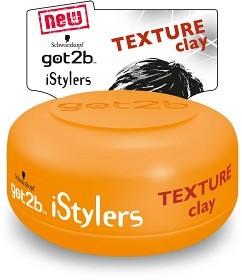 Bild på Schwartzkopf Got2B iStylers Texture Clay 75 ml