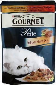 Bild på Gourmet Perle Kyckling & Oxkött 85 g
