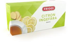 Bild på Grönt te Citron Ingefära 20 tepåsar
