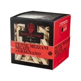 Bild på Gragnano Pastificio dei Campi Pasta Penne Mezzani Rigate 500 g