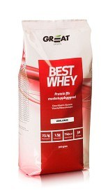 Bild på Great Earth Best Whey Muscle Repair Vanilj 900 g