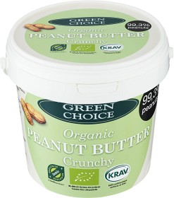 Bild på Green Choice Jordnötssmör Crunchy Hink 1 kg