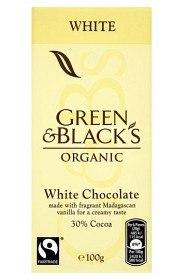 Bild på Green & Blacks White Chocolate 100 g
