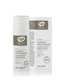 Bild på Green People No Scent Cleanser & Make-Up Remover 50 ml