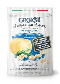 Bild på Groksi Ostsnack Rosmarin 60 g