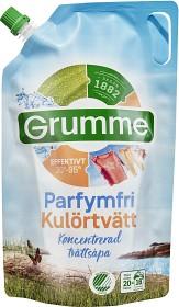 Bild på Grumme Tvättmedel Kulör Parfymfri Flytande 800 ml