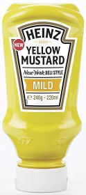 Bild på Heinz Yellow Mustard Mild 220 ml