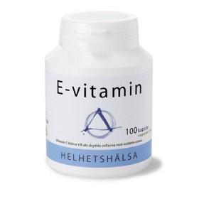 Bild på Helhetshälsa E-vitamin 100 kapslar