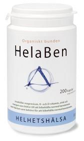 Bild på Helhetshälsa HelaBen 200 kapslar (veg.)
