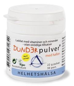 Bild på Helhetshälsa Dunderpulver 30 portioner