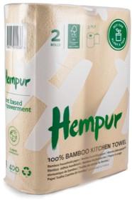 Bild på Hempur Bambu Hushållspapper 2-pack