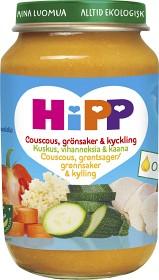 Bild på HiPP Couscous Grönsaker & Kyckling 8M 190 g