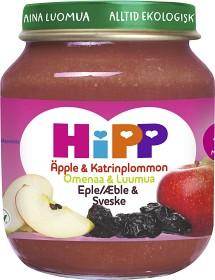 Bild på HiPP Fruktpuré Äpple & Katrinplommon 4M 125 g